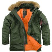 Куртка Аляска Alpha Industries USA N-3B Slim Fit Parka