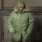 Куртка Парка Зимняя Американская N3B «АЛЯСКА» бк047