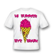 Креативная футболка на лето